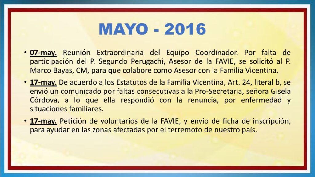 INFORME DE ACTIVIDADES FAVIE 2015 2018